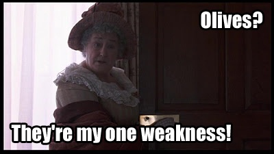 Picture from Sense and Sensibility, Quote adapted from Lark Rise to Candleford