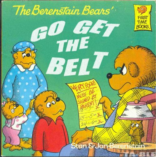 Lol I don't remember reading this one...Go Get The Belt.