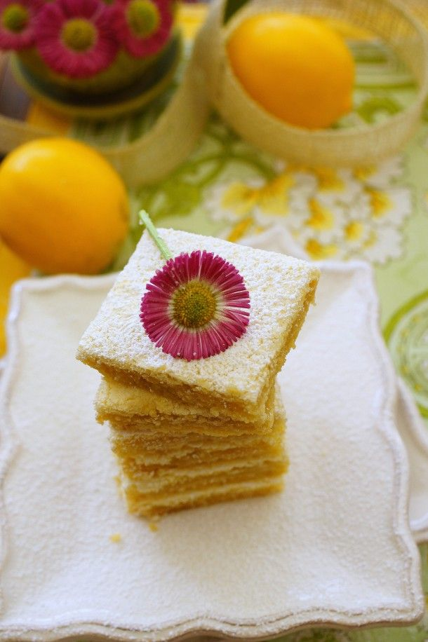 Classic Lemon Bars / Patty's Food | > Cookies, Bars & Candy | Pint...