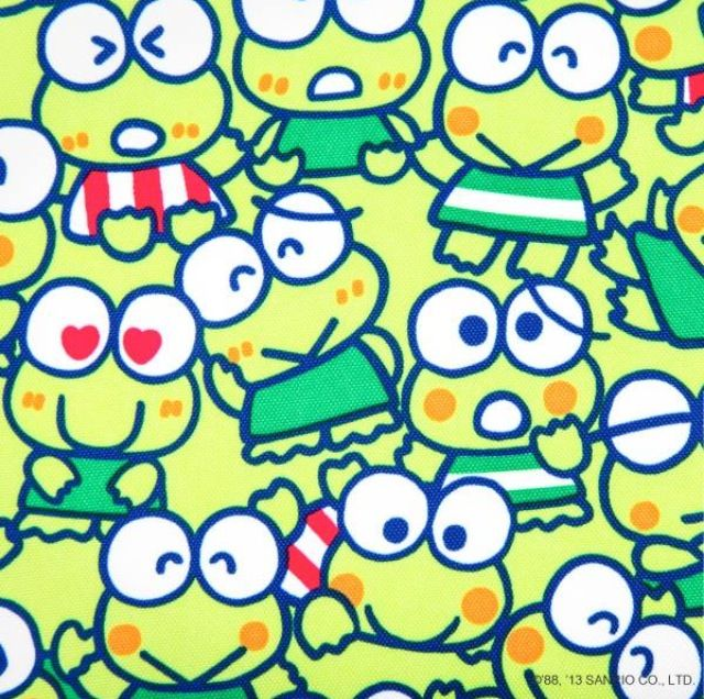 keroppi sanrio Colouring Pages (page 3)
