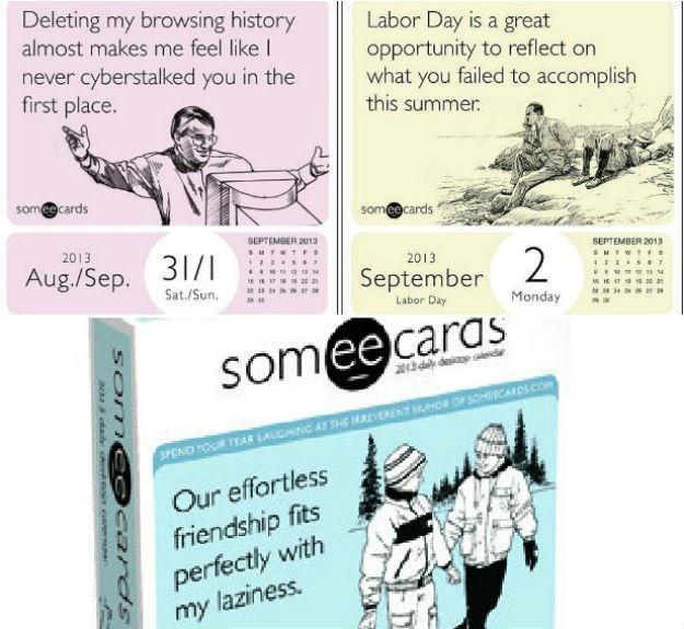2013 daily ecard calendar | just b.CAUSE
