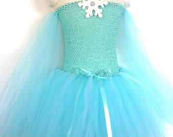 Frozen inspired Queen Elsa Tutu Dress, Birthday party dress, Princess Dress, Dress up, Costume, 2-3 week processing time, no rush accepted.