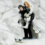 winter wedding cake topper 2   how cute!
