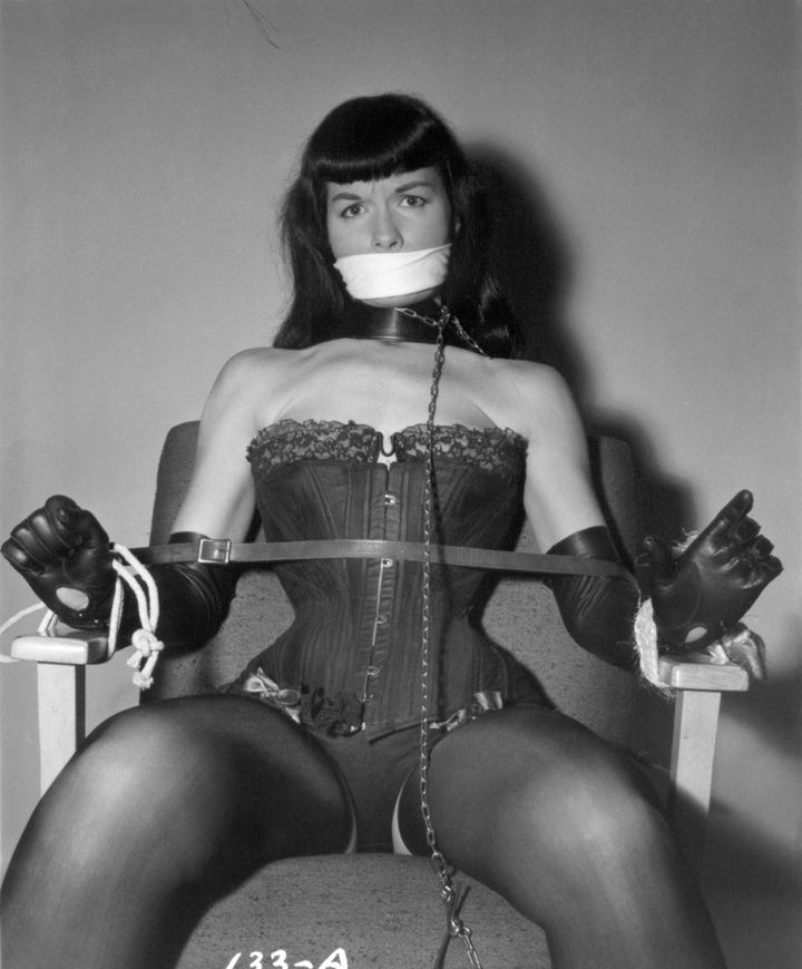 Bettie page picture and bondage