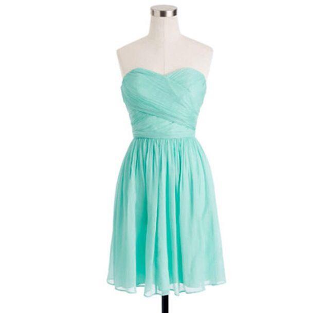 Tiffany blue bridesmaid dress jordan 39 s bridesmaid for Wedding dresses with tiffany blue