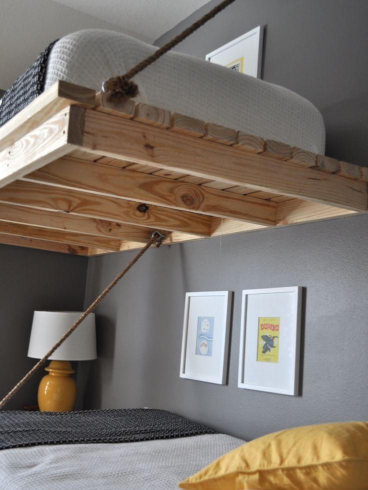Hanging loft for Suspended bed plans