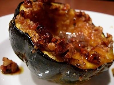 Pecan Crusted Acorn Squash | Delicious | Pinterest