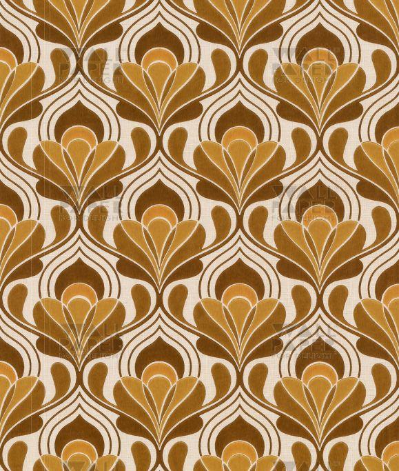 Vintage behang - Vintage Floral 1034  P A T T E R N  Pinterest