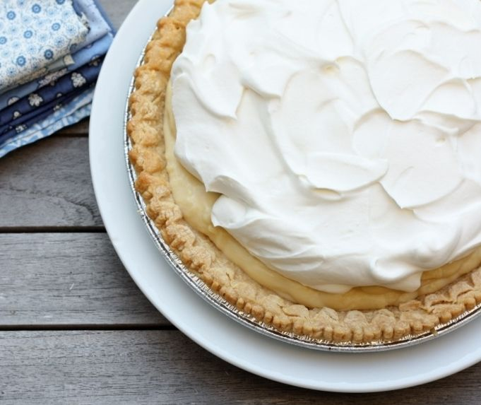 Banana Cream Pie - making this tonight for Ryan! Wish me luck!