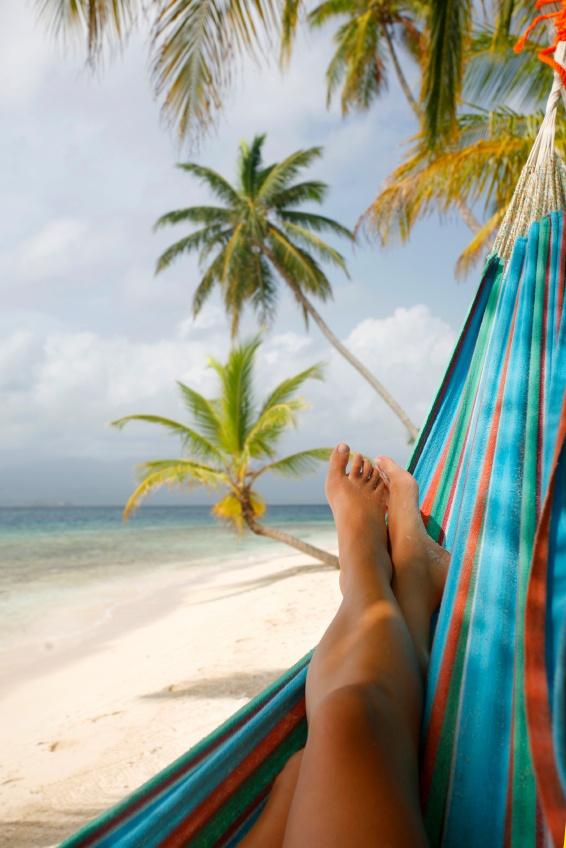 Un siesta paradisiaca... BUENA IDEA!! ;)
