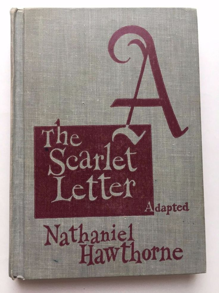 The scarlet letter research paper