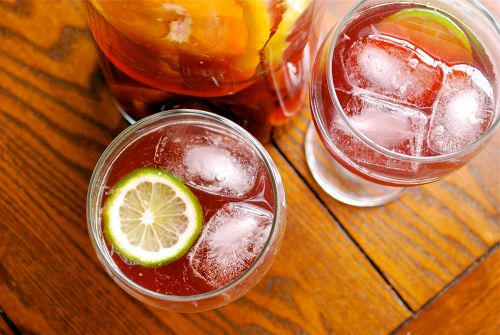 Recipe and images of Virgin Sangria by Lacey Stevens-Baier, a sweet ...