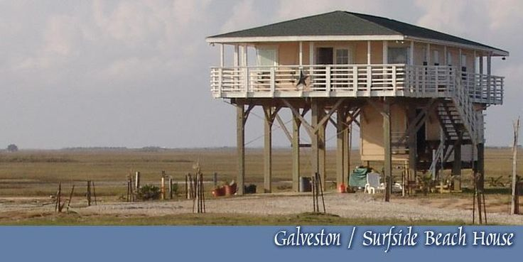 Galveston beach house rental contemporary beach home for Beach house plans galveston