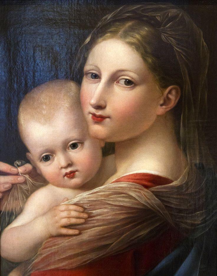 José de Madrazo y Agudo (1781-1859) —  Madonna and Child  (983x1250)