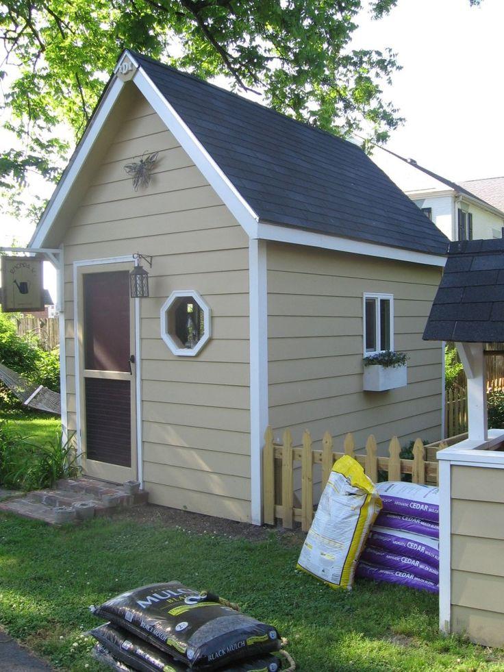 Cute Little Garden Shed Little Cottages Sheds