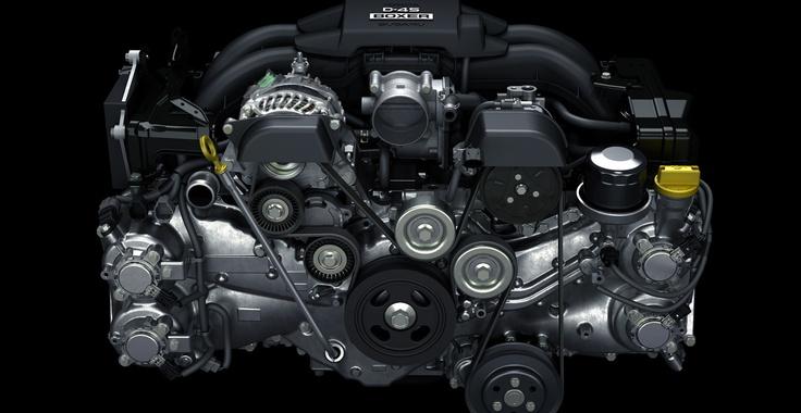 Toyota 4U-GSE (Subaru FA20) engine used in Toyota GT86 (Subaru BRZ & Scion FR-S)| (via Toyota UK )