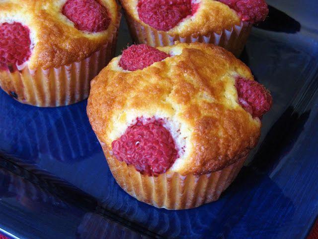 Raspberry-Topped Lemon Muffins | Breads/muffins | Pinterest