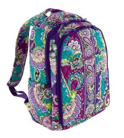 backpack baby bag vera bradley the future i hope pinterest. Black Bedroom Furniture Sets. Home Design Ideas