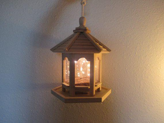 Miniature Gazebo Lighting, OOAK Lighting, Creative Lighting, Unique L?