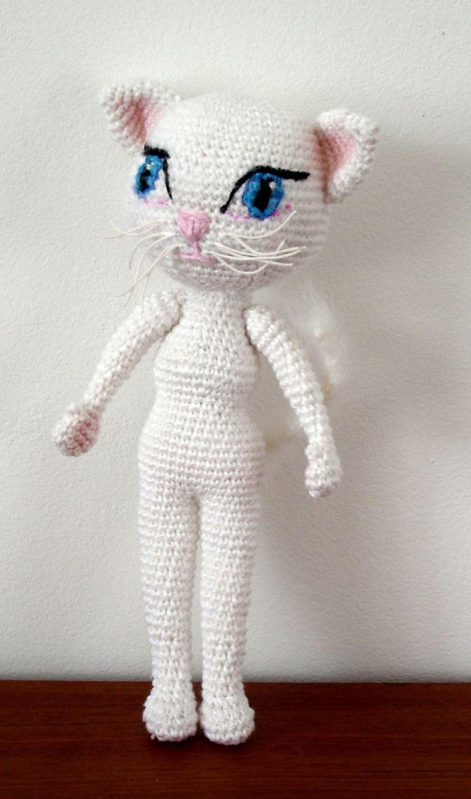 Talking Angela Amigurumi : Angela the Cat Crocheting things & a little knitting ...