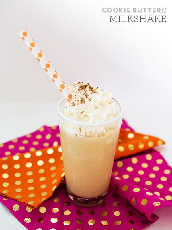 Biscoff Cookie Butter Milkshake. You can now find Biscoff Spread at ...