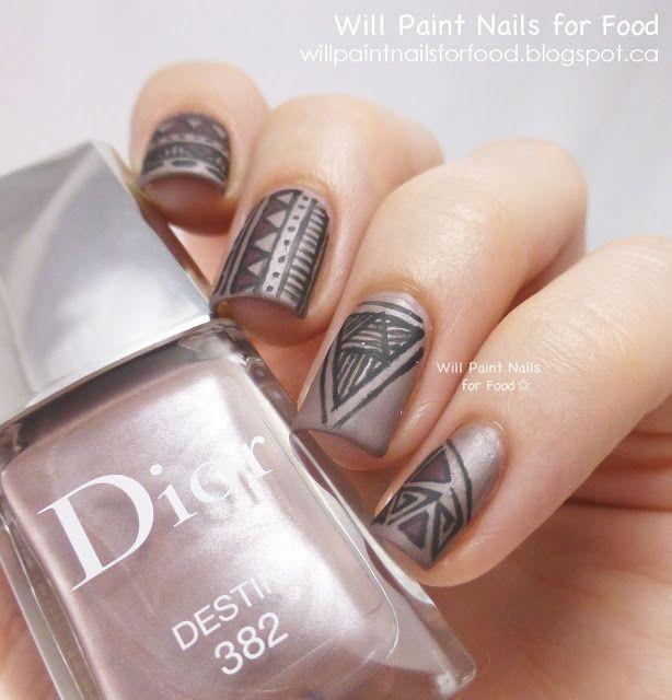 Nail Designs Matte | Nail Art Designs