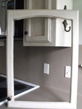 Diy glass cabinets hmm use a recycled door as my medicine cabinet