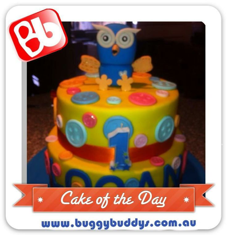 Hoot Birthday Cake. For kids party ideas in Perth, WA see the ...