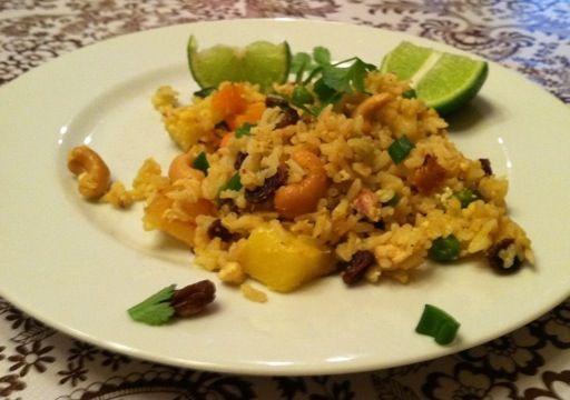Pineapple Fried Rice (Thai style) | Recipes | Pinterest