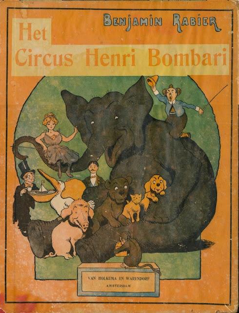 Benjamin Rabier, Het Circus Henri Bombari,1912