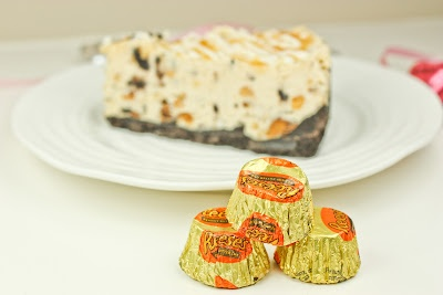 Frozen Reese's Peanut Butter & Oreo Pie | Food | Pinterest