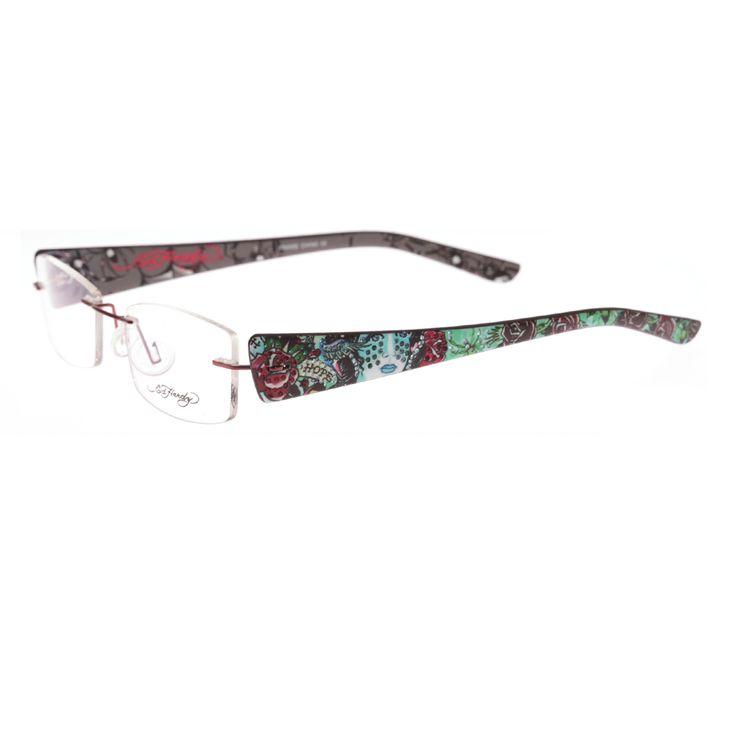 Ed Hardy Lites Eyeglasses Frames : Ed Hardy EHL-817 Lite Designer Eyeglasses