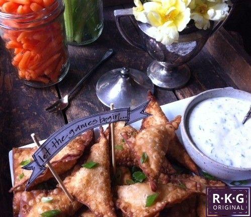 ... with High End Ranch Dipping Sauce Rebecca Gordon Buttermilk Lipstick