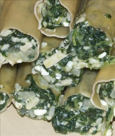 Spinach Filling for Cannelloni, Ravioli and Tortellini. Photo by Peter ...