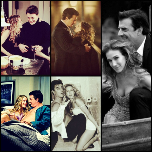 Favorite TV couple ❤ SATC Carrie & Big!