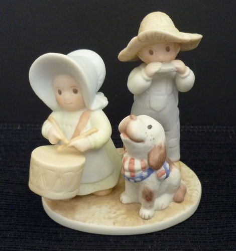Homco home interiors circle of friends figurine saints go Eba home interior figurines