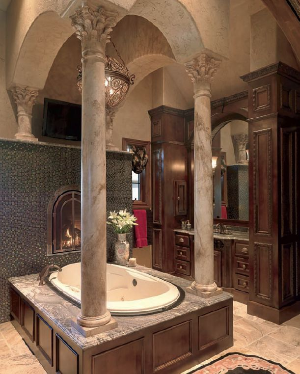 Gorgeous Bathroom Unique With Luxury Bathrooms with Columns Image