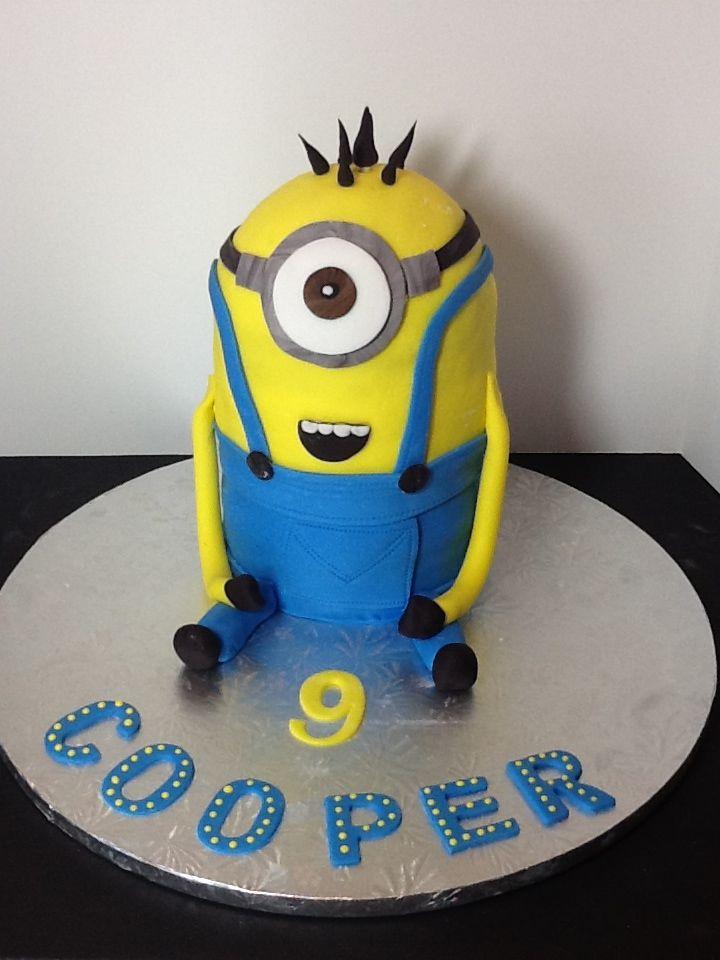Minion Birthday Cake  Sweet Nana Cakes  Pinterest