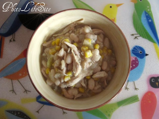 Hearty White Bean Chicken Chili | Food | Pinterest