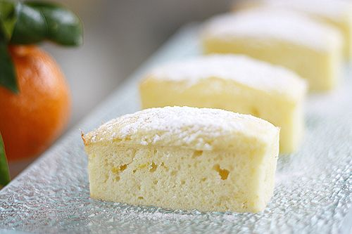 little lemon yogurt cakes