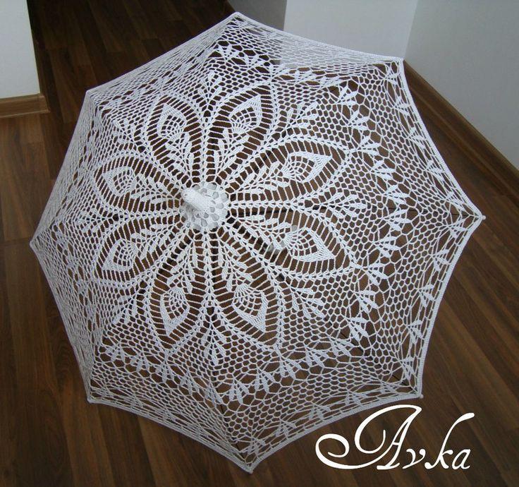 Crochet Umbrella : crochet umbrella knitting & crochet Pinterest