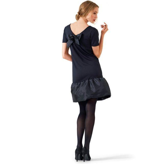 Mademoiselle R La Redoute automne-hiver 2013 robe housse volant et noeud dans le dos