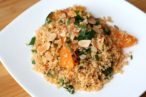 Citrus Quinoa Salad with Toasted Almonds | Recipes | Pinterest