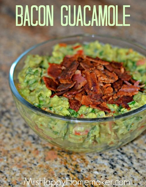 bacon grilled ramps or green onions and roasted tomatillos guacamole ...