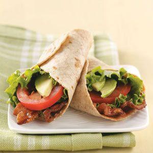BLT wrap! | Food n Drink | Pinterest