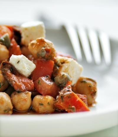 Chickpea Salad With Cumin Vinaigrette   Recipe