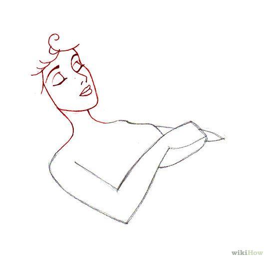 спящая красавица рисунки поэтапно