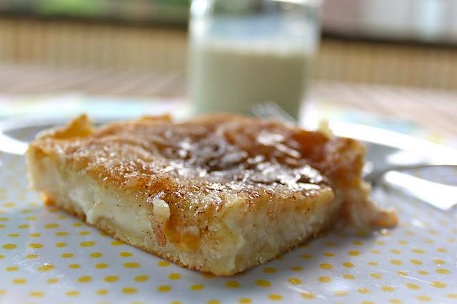 Sopapilla Cheesecake....Crescent rolls, cream cheese, butter and sugar ...