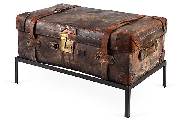 Distressed Trunk Cocktail Table 1 Reduced 2 Retail