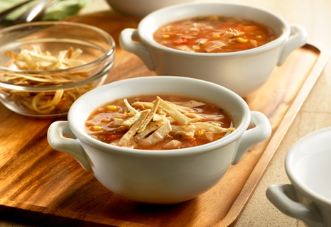 Hearty Turkey Tortilla Soup | Recipe